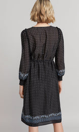 Gertrude Dress - Black