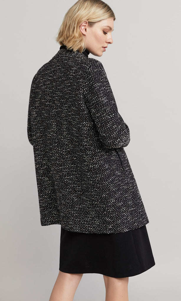 Bogart Coat - Black/White