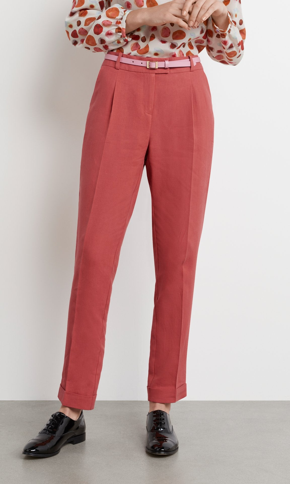 Frances Trouser - Raspberry