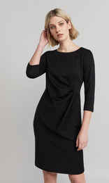 Elmore Wrap Dress - Black