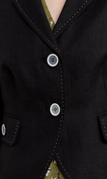 Torcello Jacket - Black