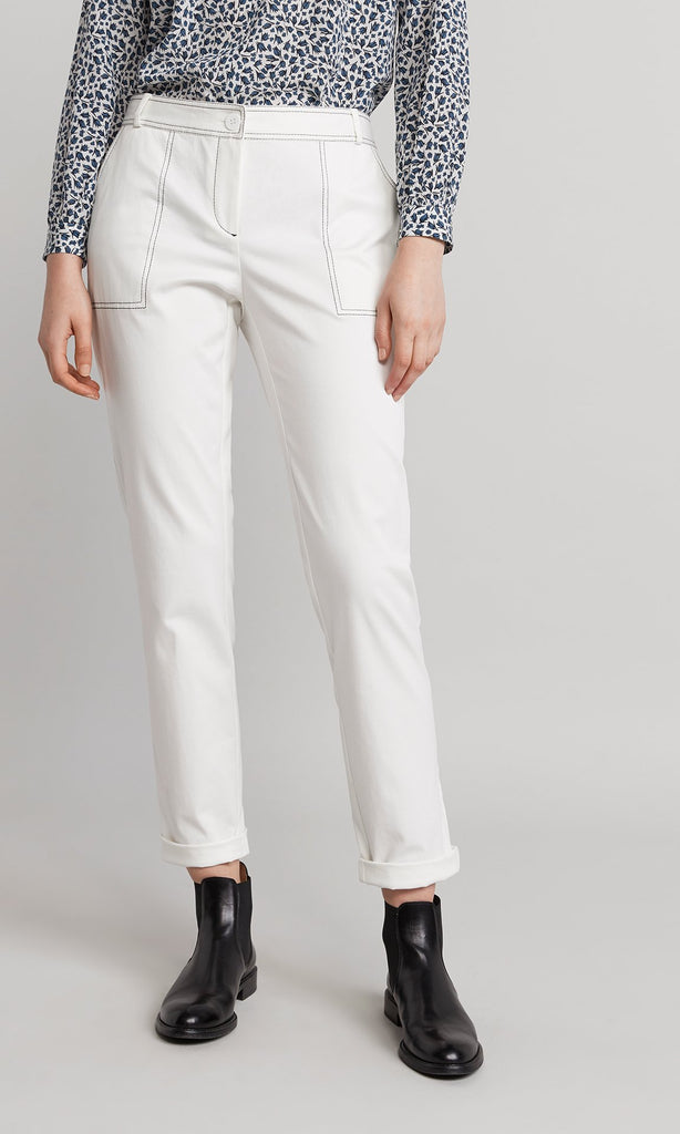 Perry Pant - White
