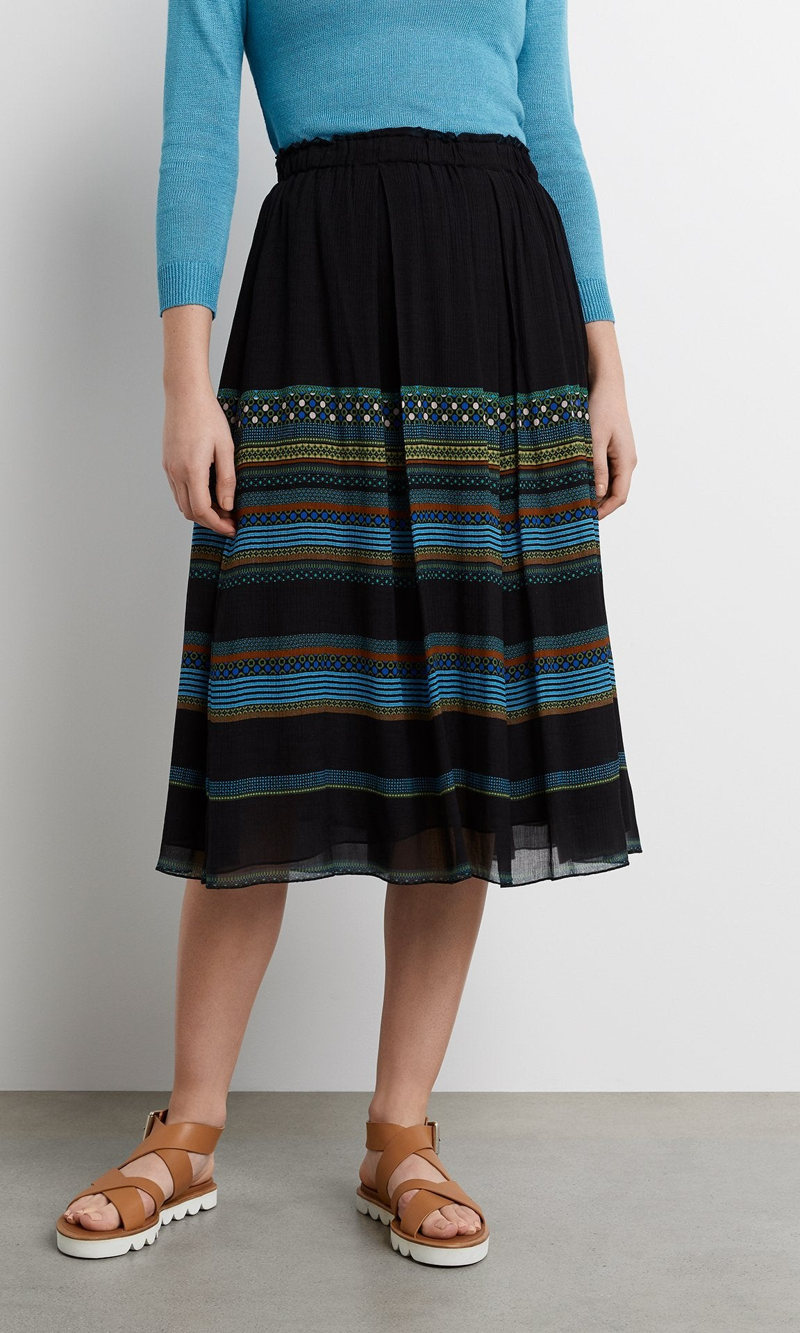 Riga Skirt - Peacock