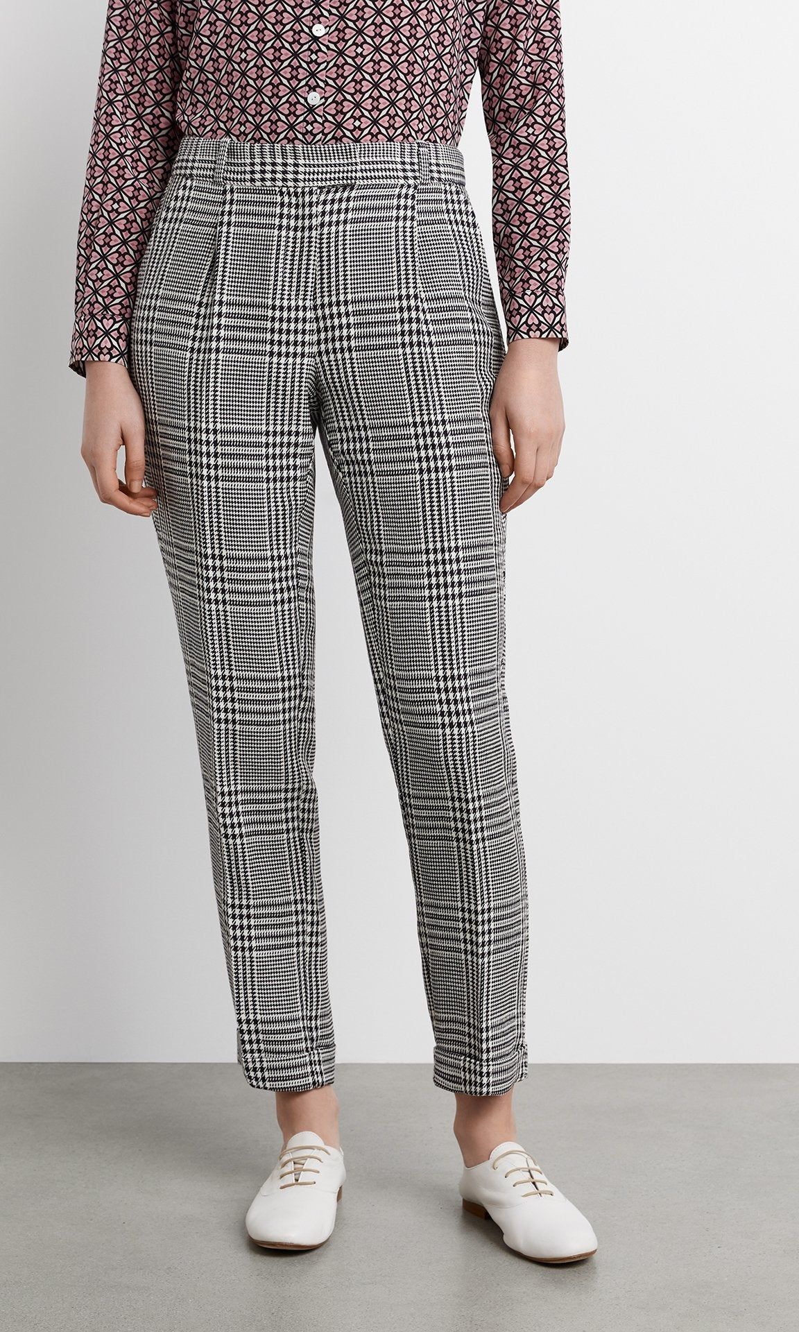 Galli Trouser - Blk/White