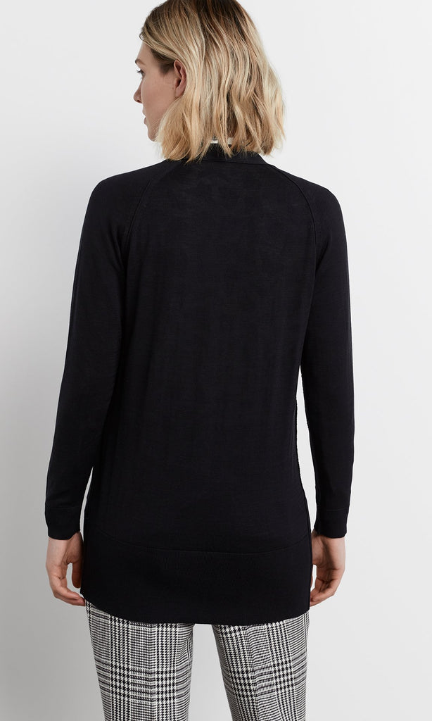 Isolotto Cardigan - Black