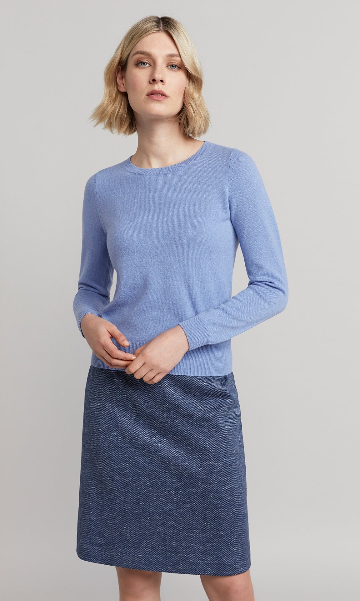Ella Knit - Blue