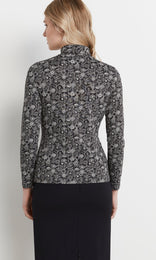 Betty Rollneck Blk/White