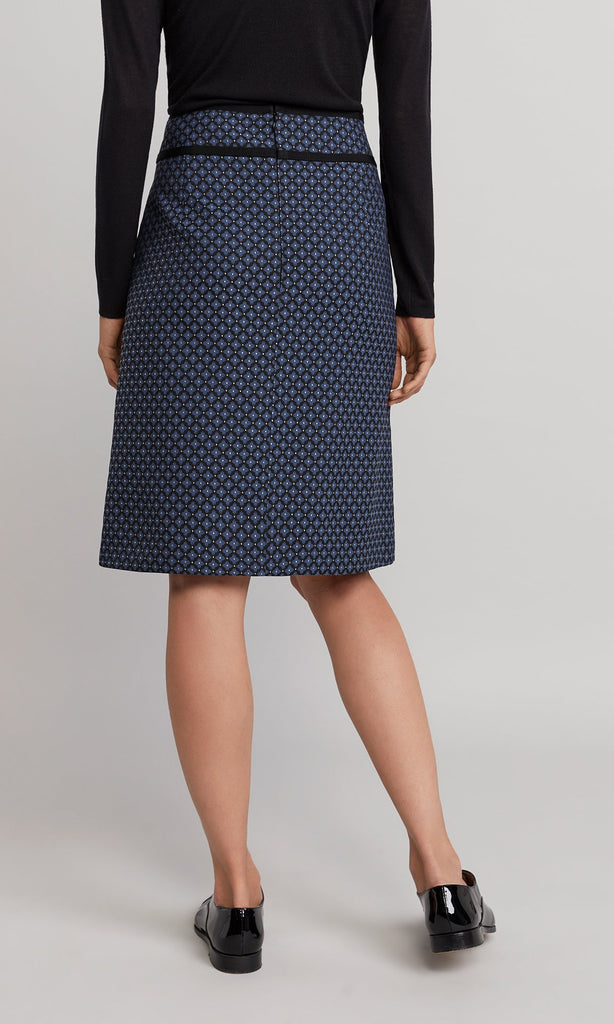 Hudson Skirt - Navy/Black
