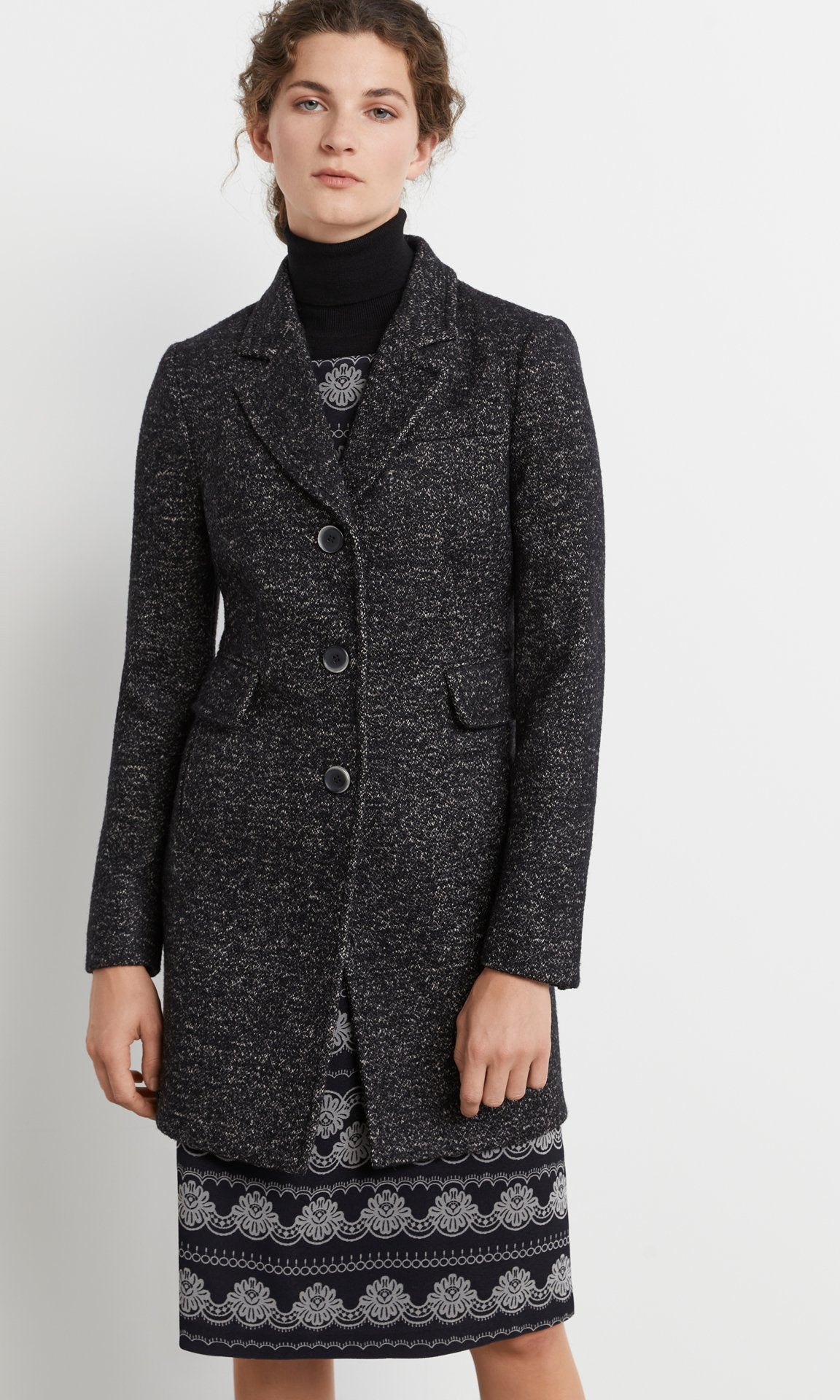 Middleton Coat Black