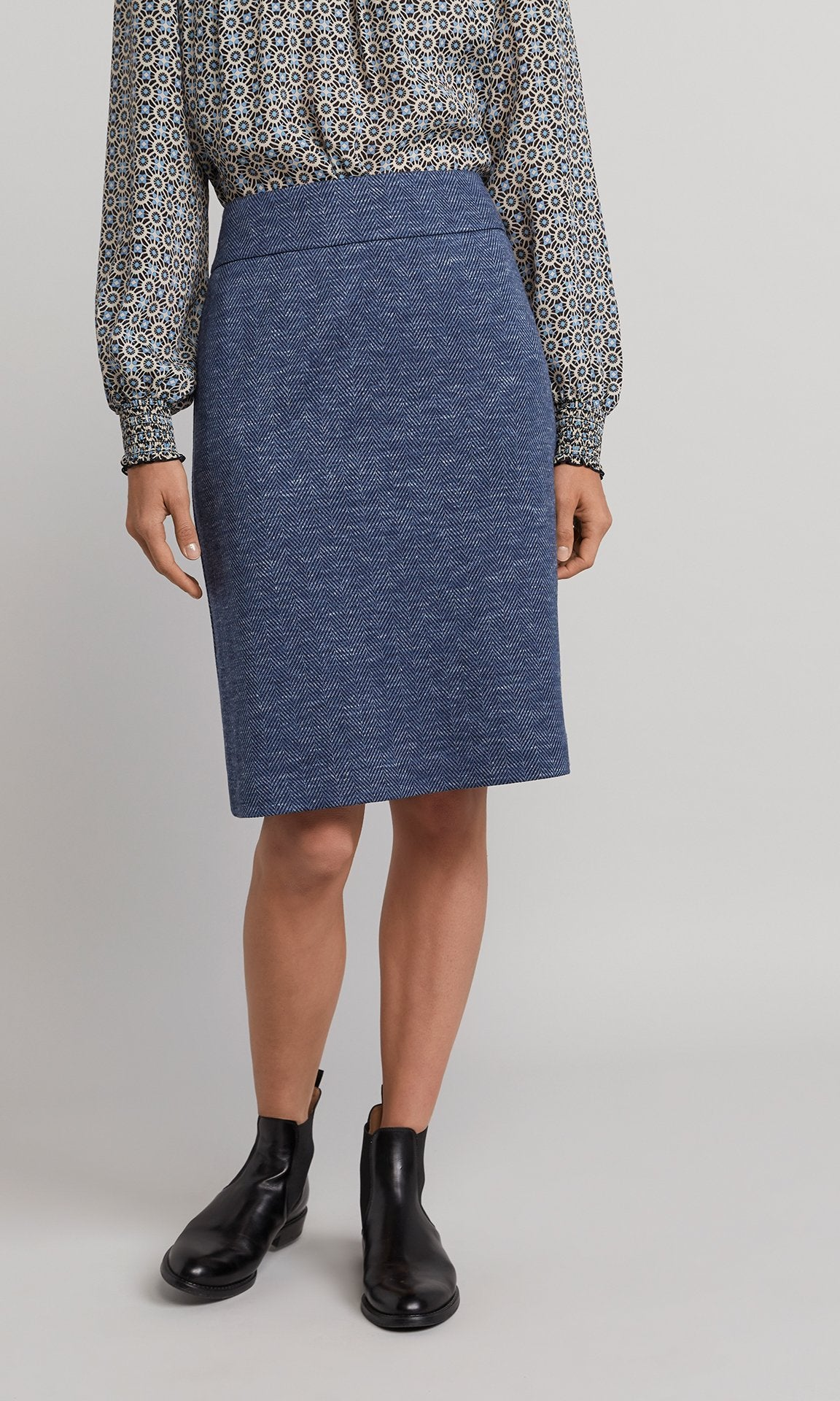 Nash Skirt - Blue