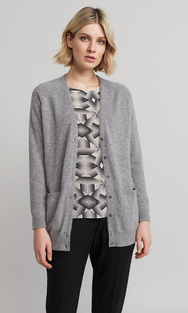 Blanche Cardigan - Pale Grey