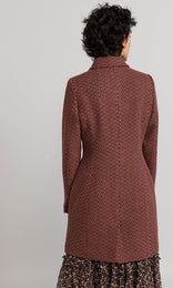 Filbert Coat - Rust