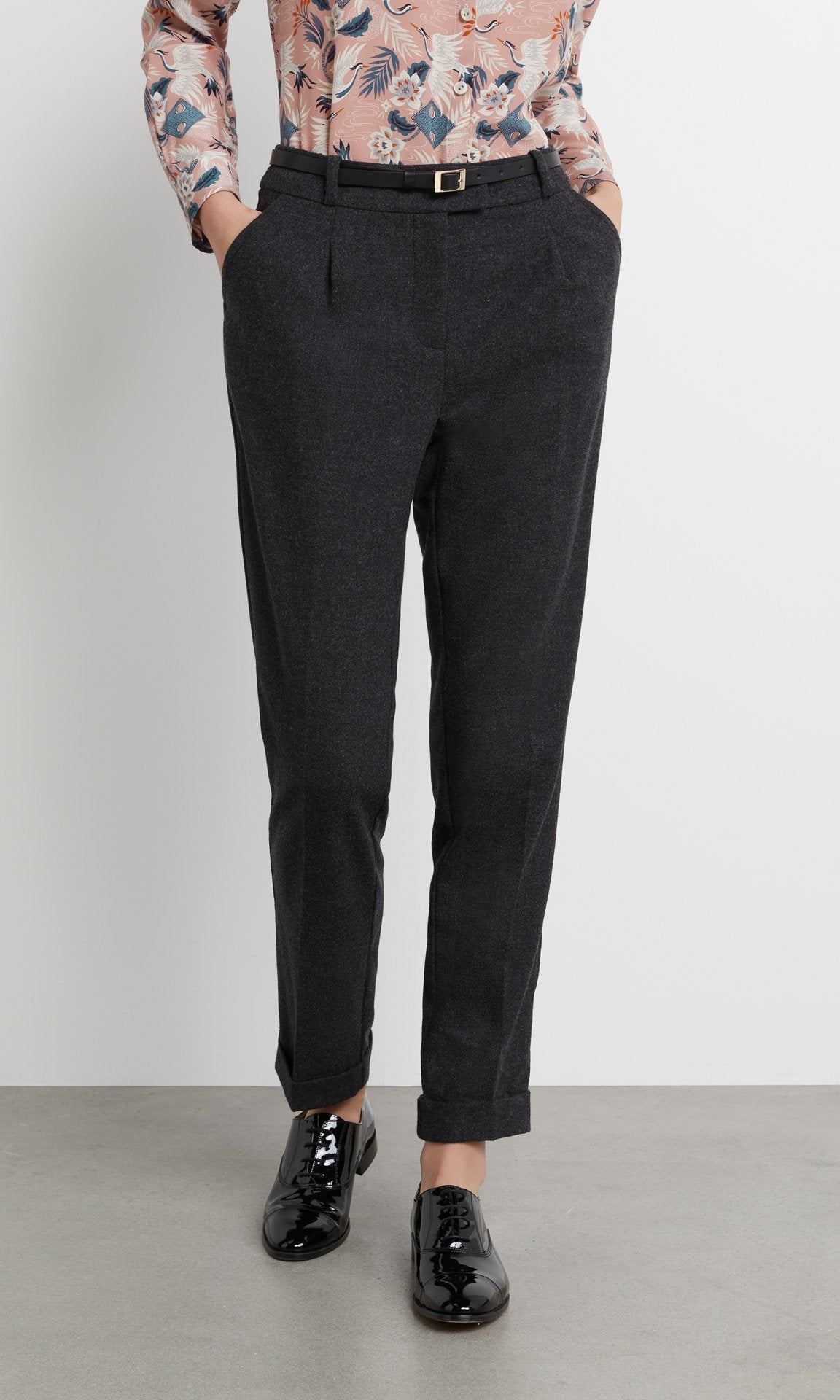 Barton Trouser - Charcoal