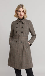 Potter Trench - Black/Natural