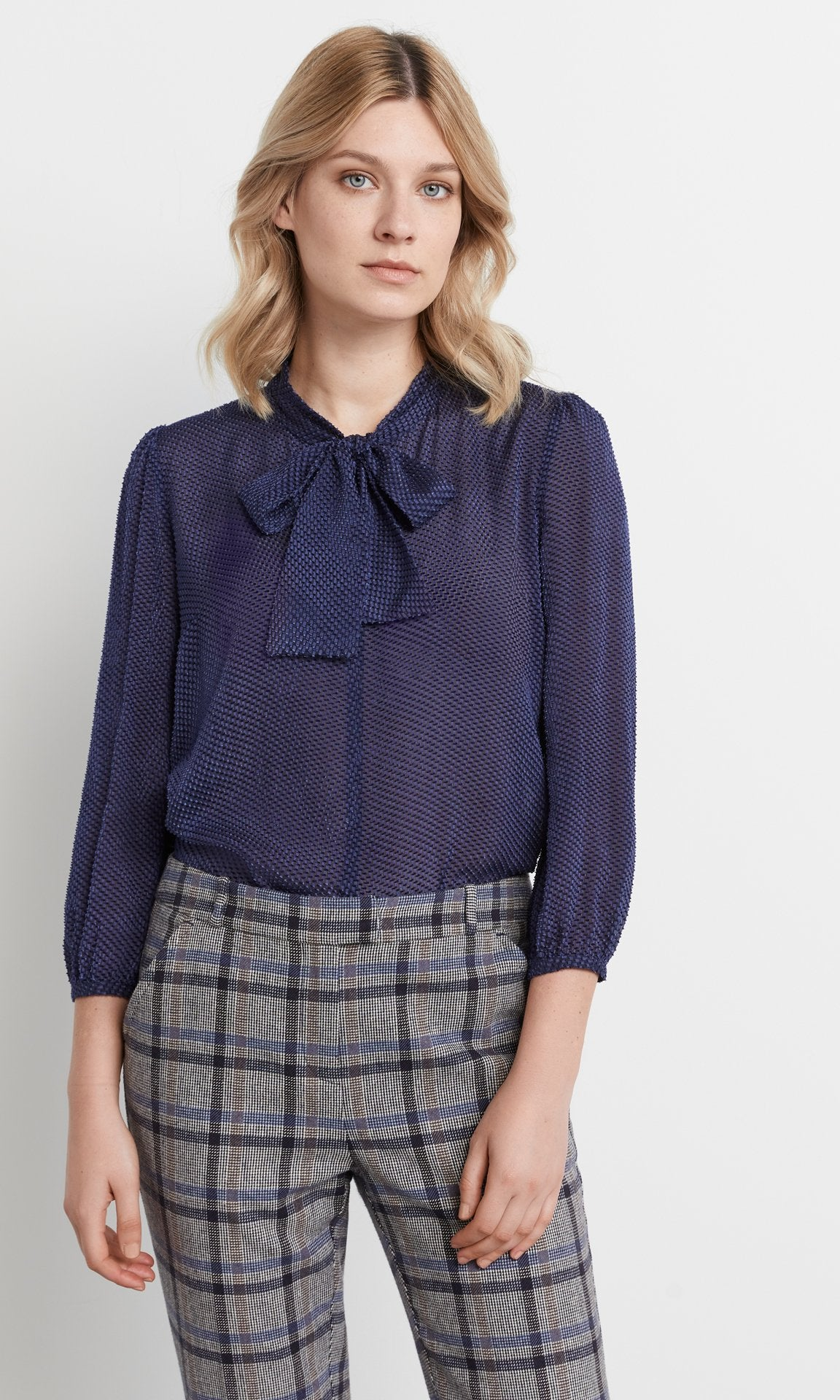 Palmer Blouse Navy