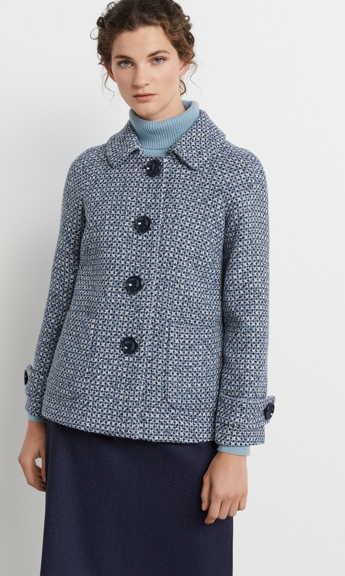 Maynard Coat Dusty Blue