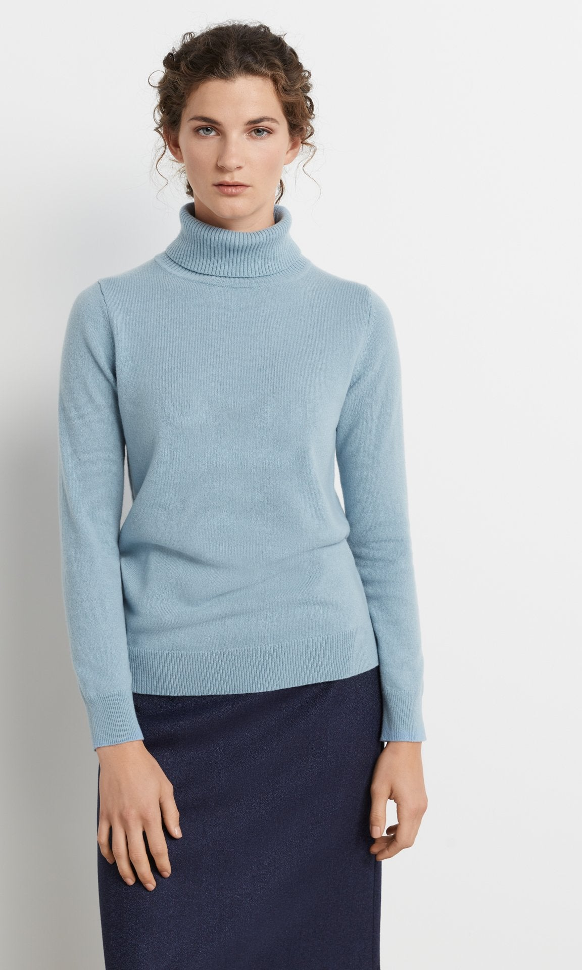 Heywood Rollneck Powder Blue