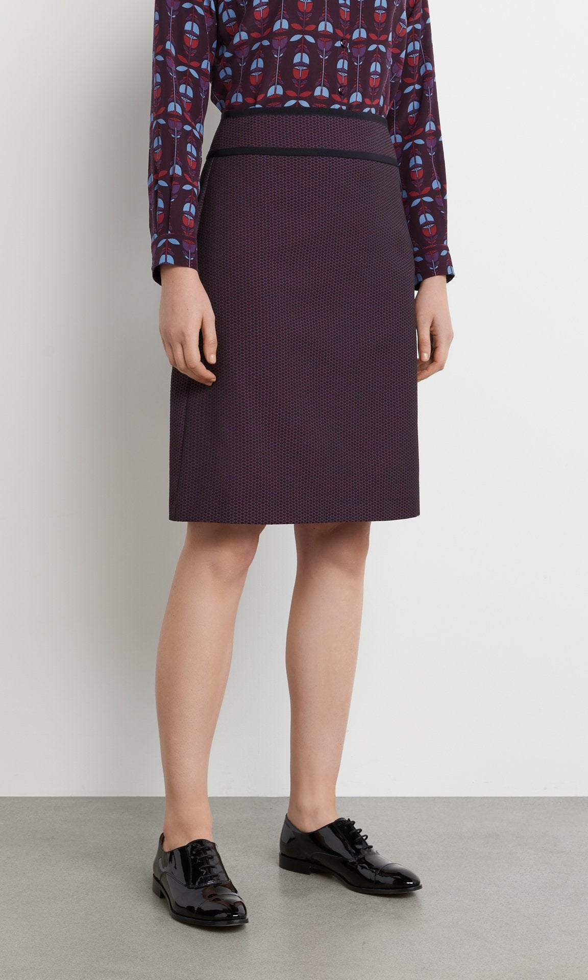 Metcalf Skirt Plum