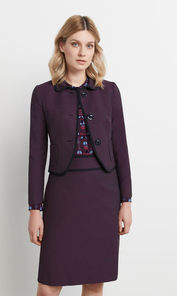 Metcalf Jacket Plum