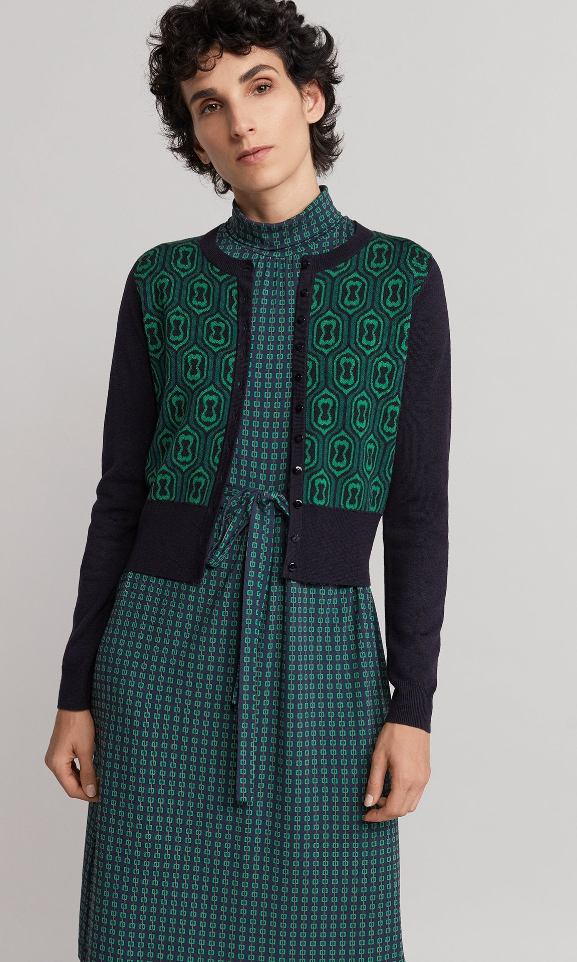 Mabel Cardigan - Green