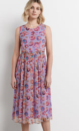 Magdalana Dress - Peach