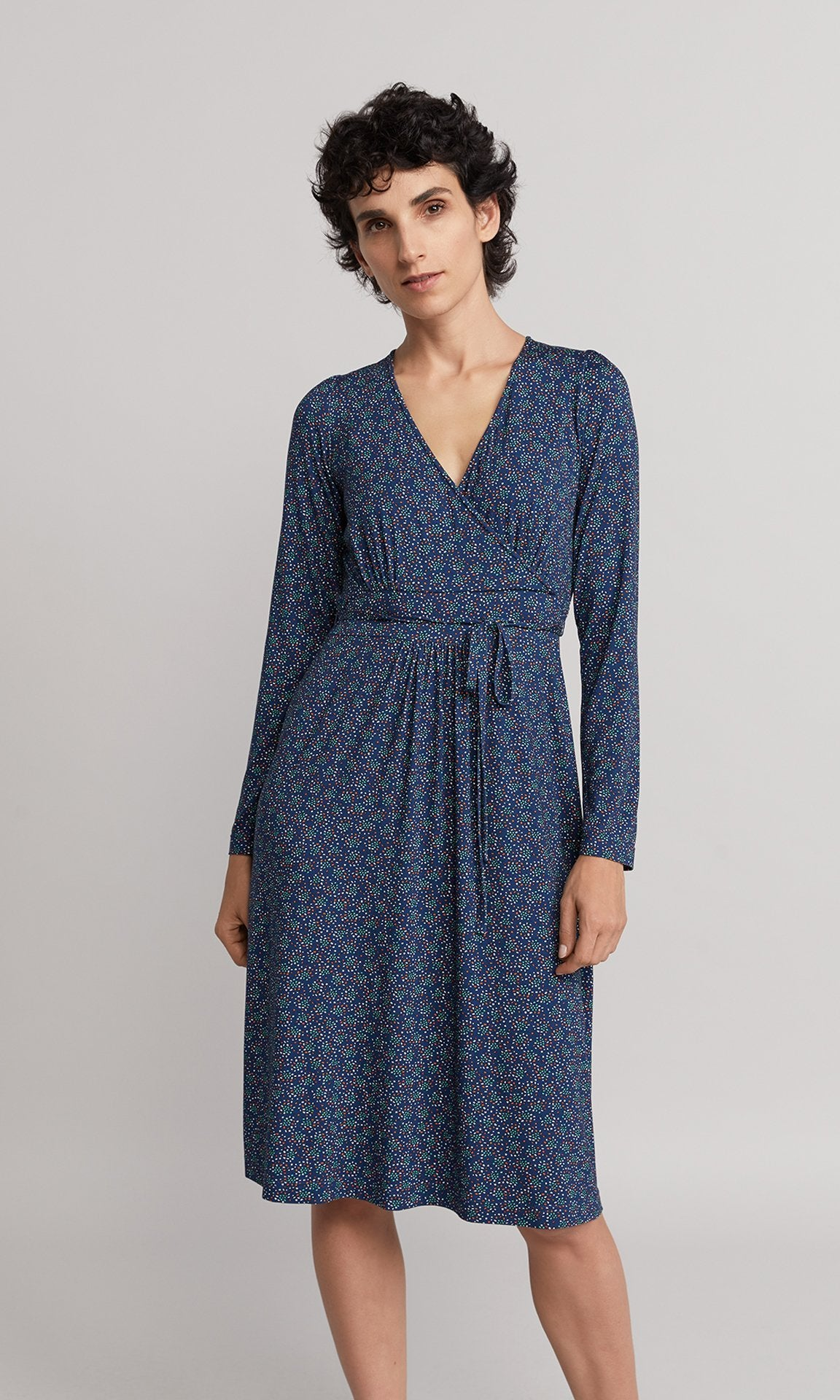 Yves Dress - Blue
