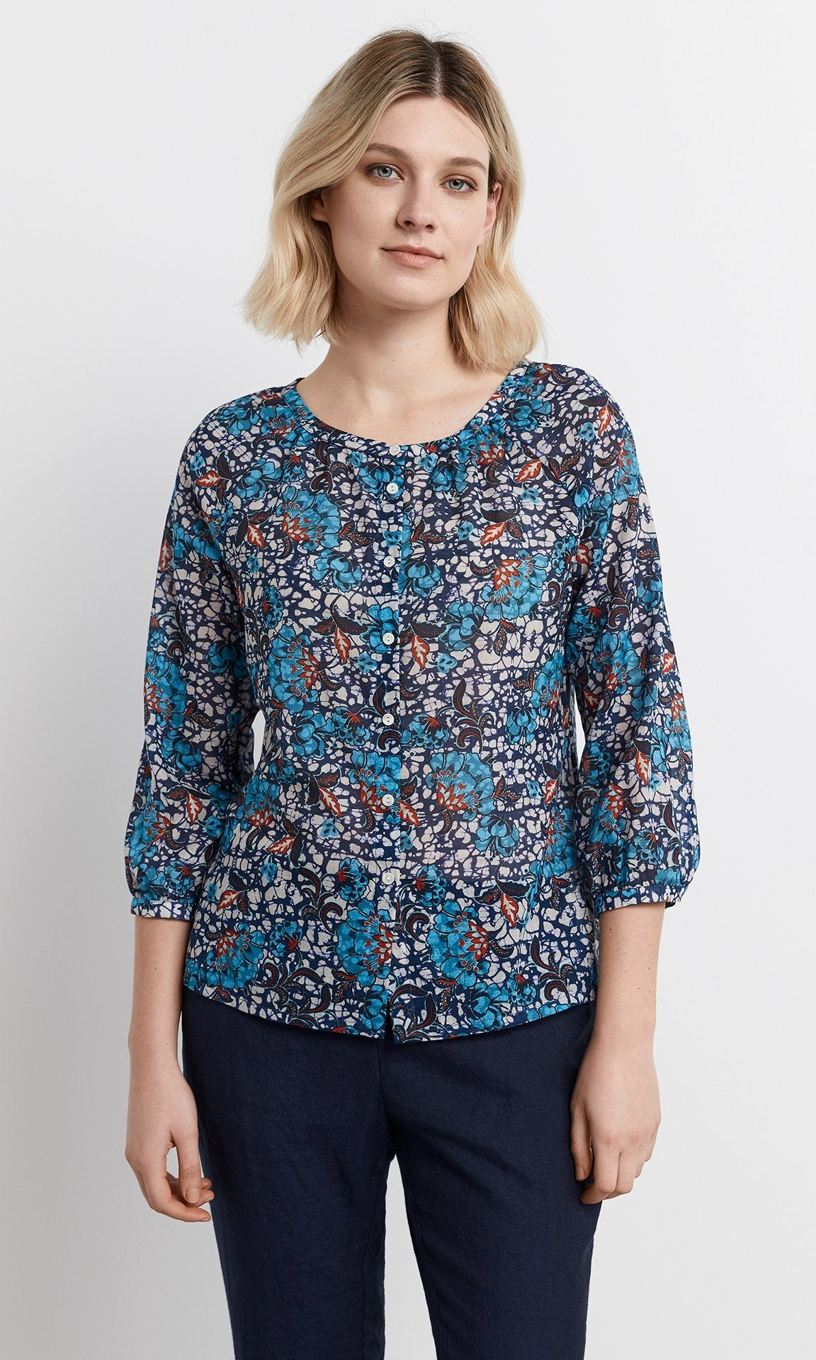 Traversa Top - Blue