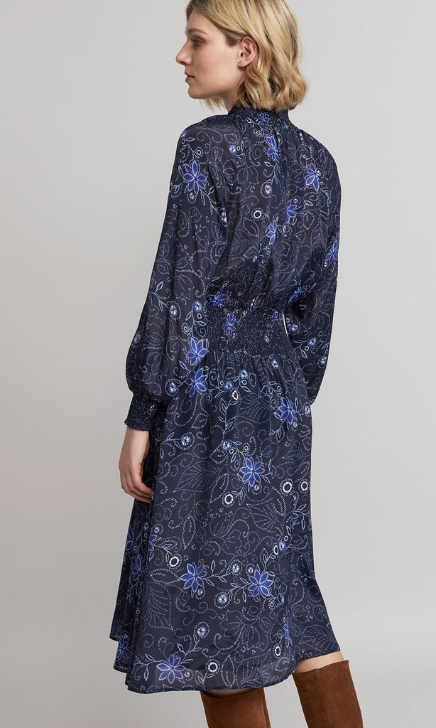 Isola Dress - Indigo