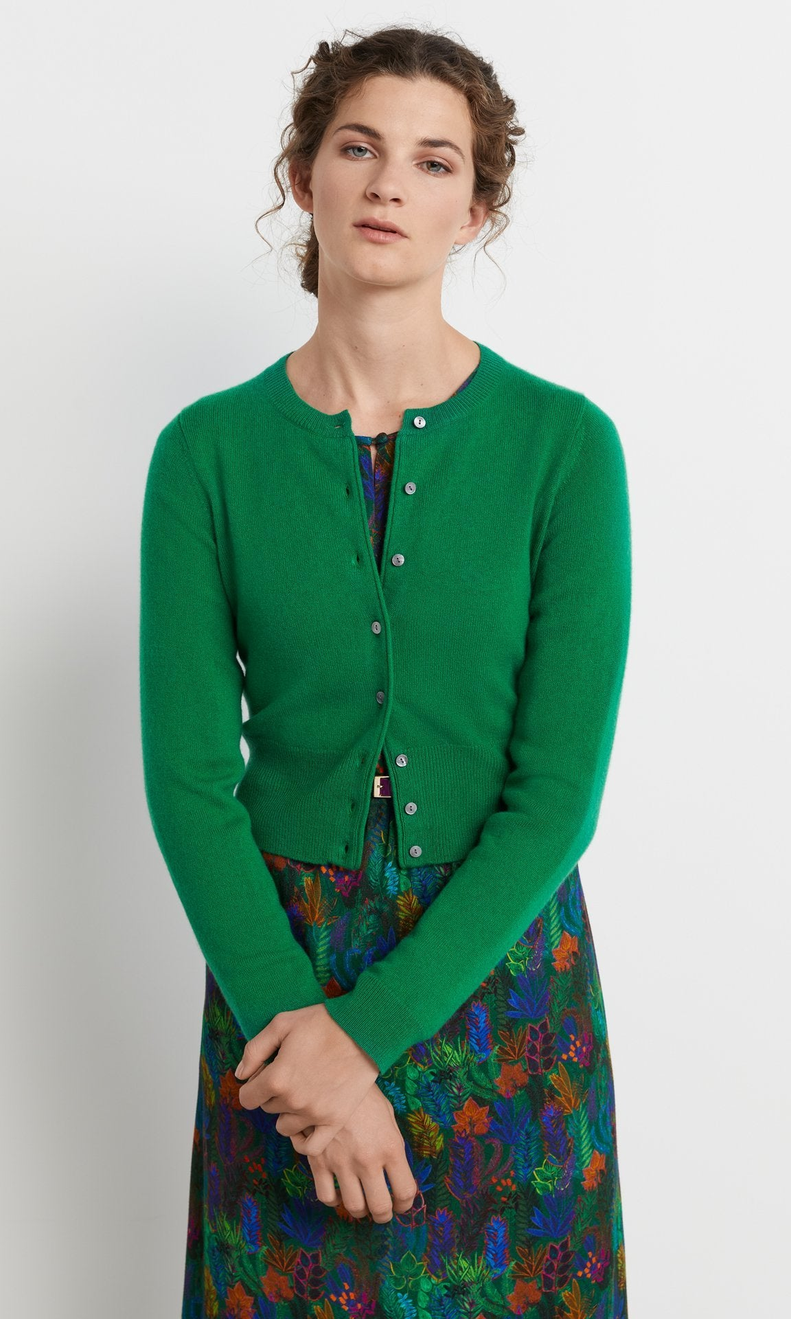 Campbell Cardigan Emerald