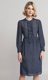 Cole Dress - Indigo