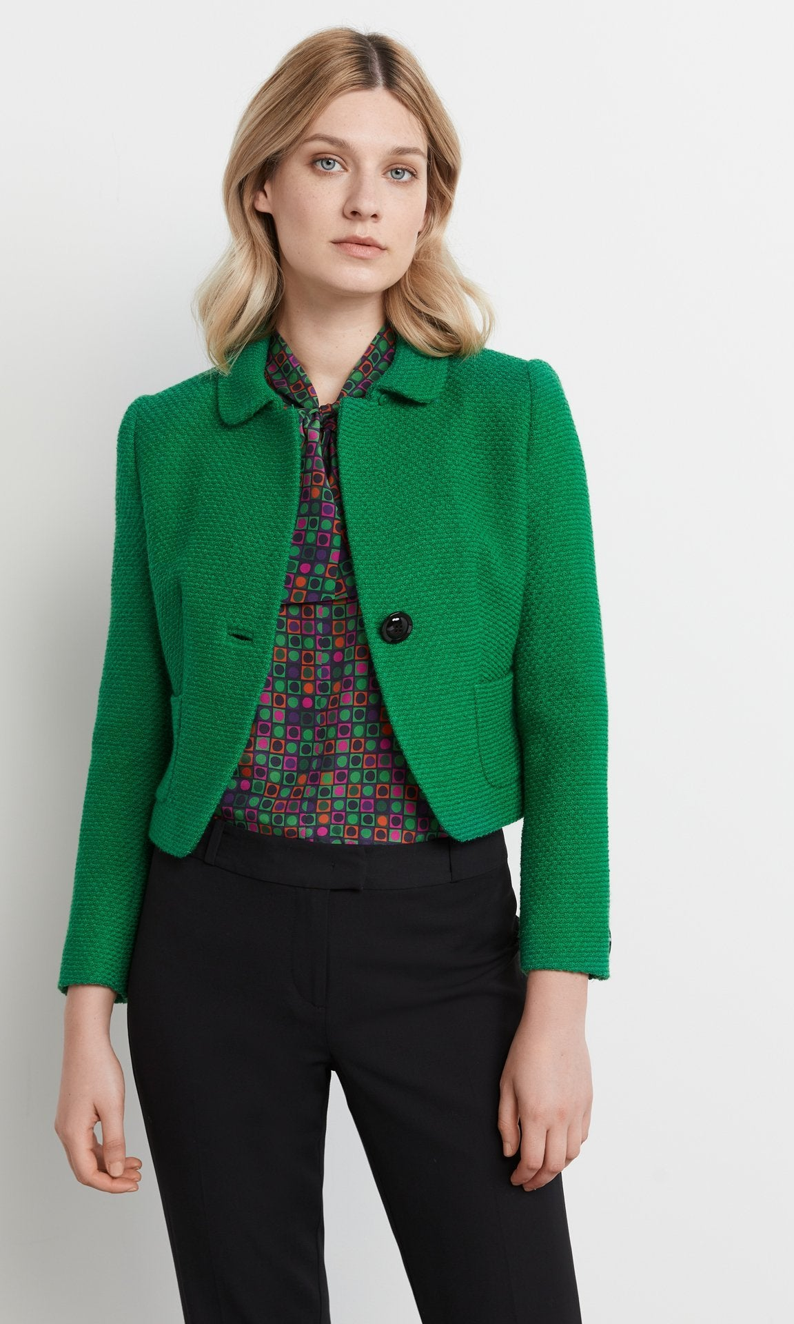 Bishop Jacket Emerald