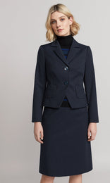Foster Jacket - Navy/Teal