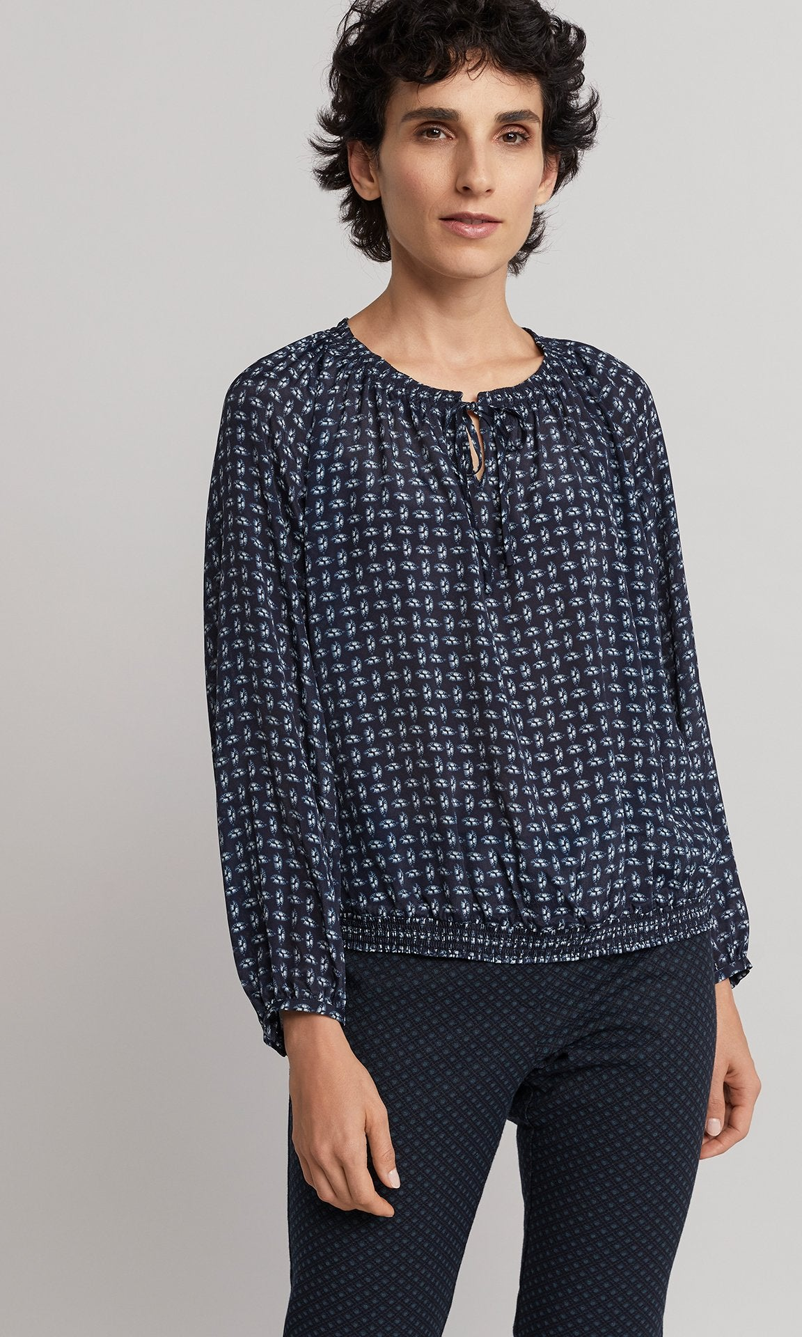 Cole Blouse - Indigo