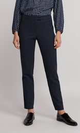 Foster Pant - Navy/Teal