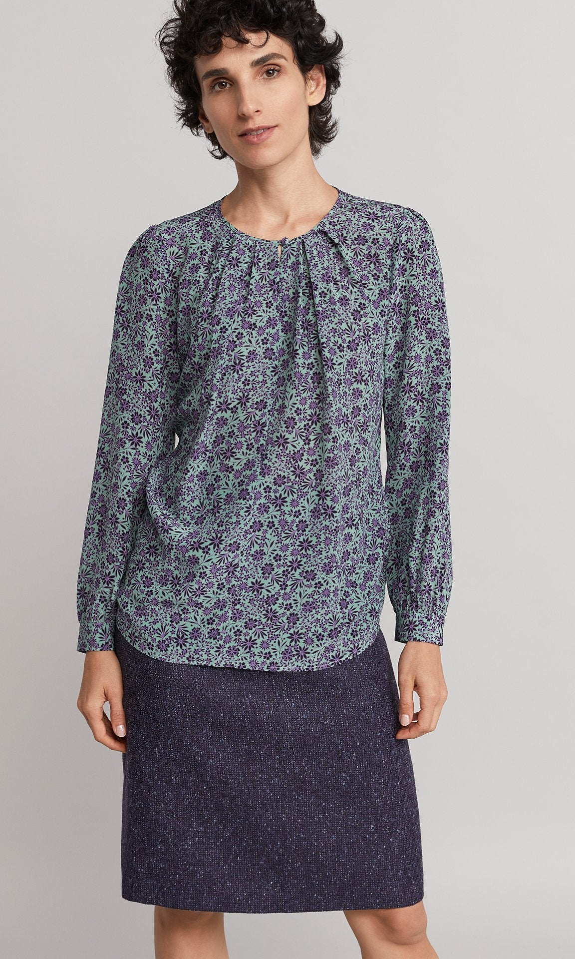 Nancy Blouse - Spearmint