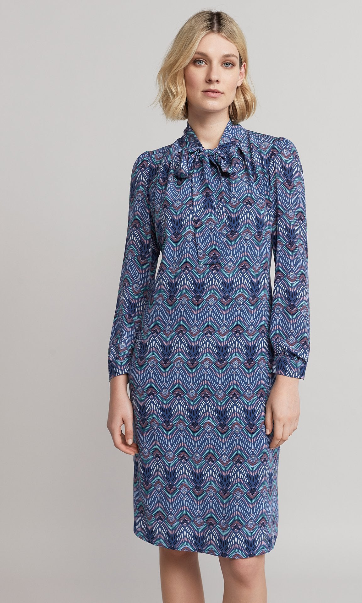 Alma Dress - Blue