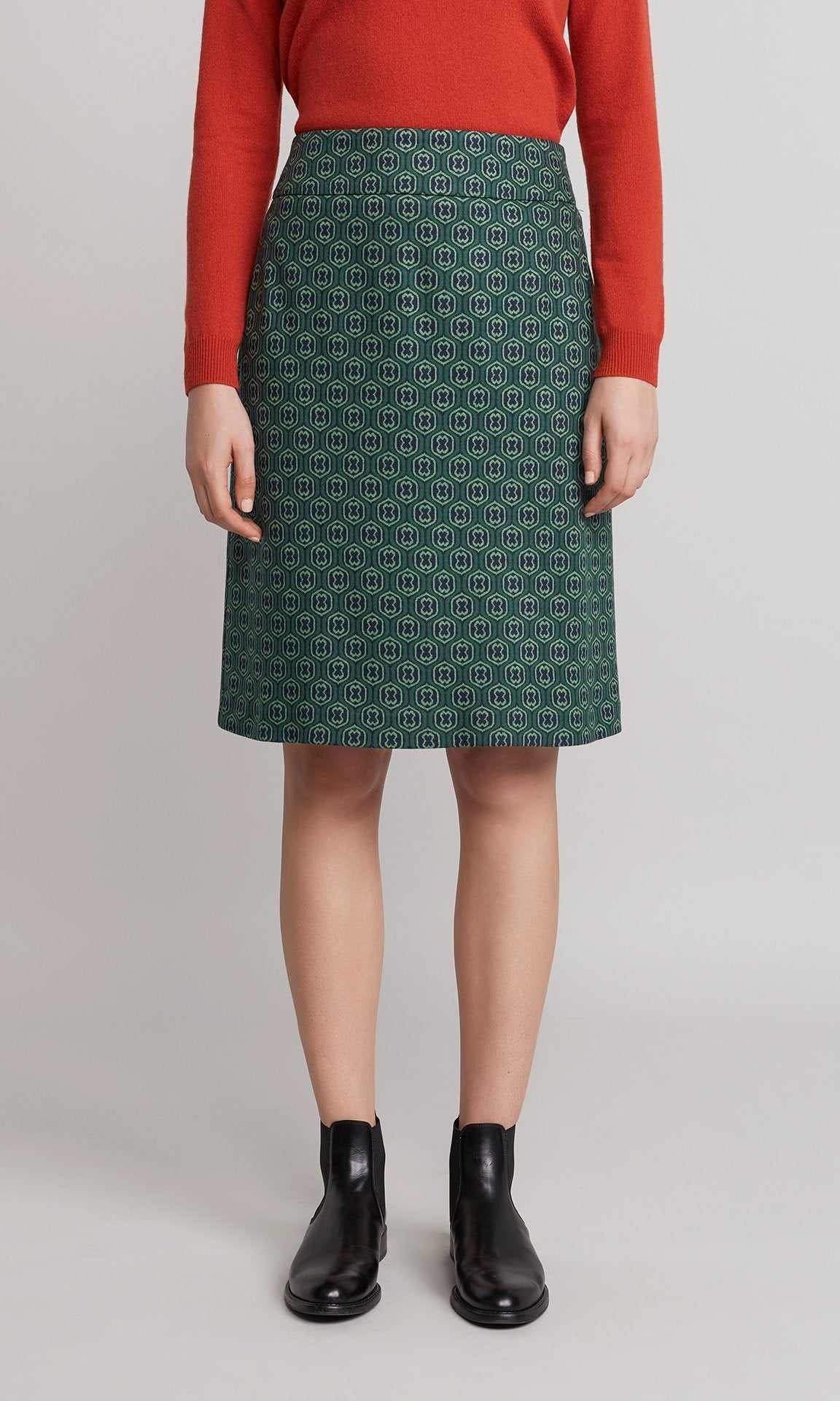Hemlock Skirt - Emerald