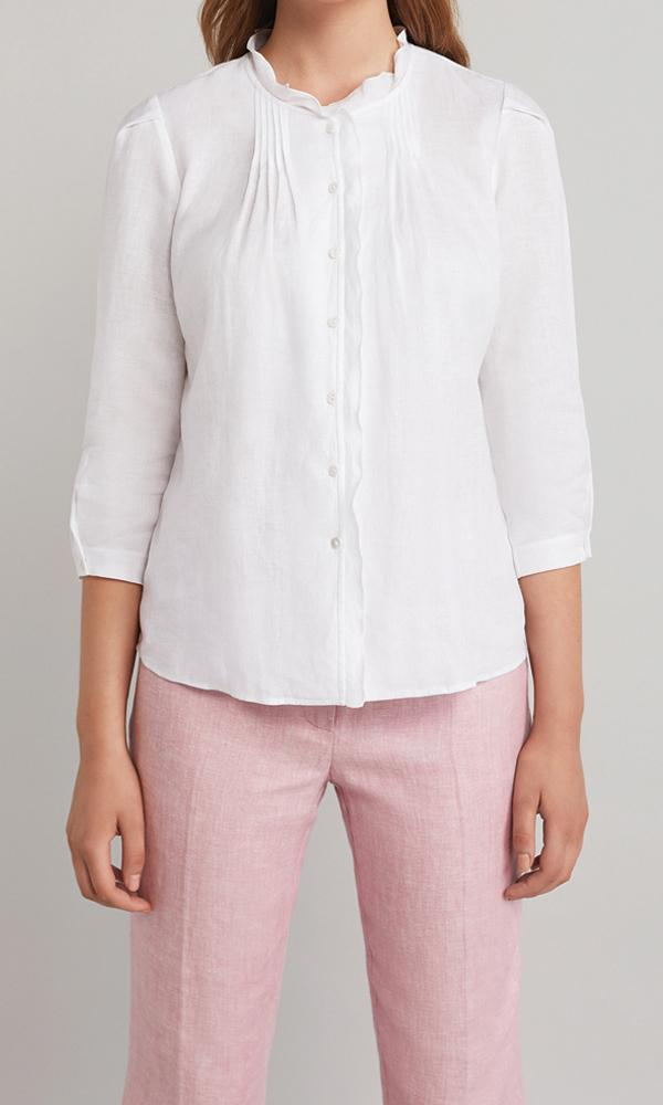Ellen Blouse  - White