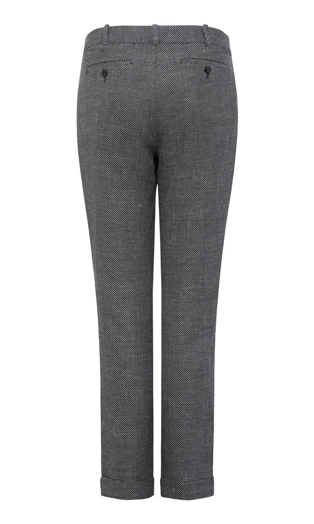 Beaumont Trouser - Black/White