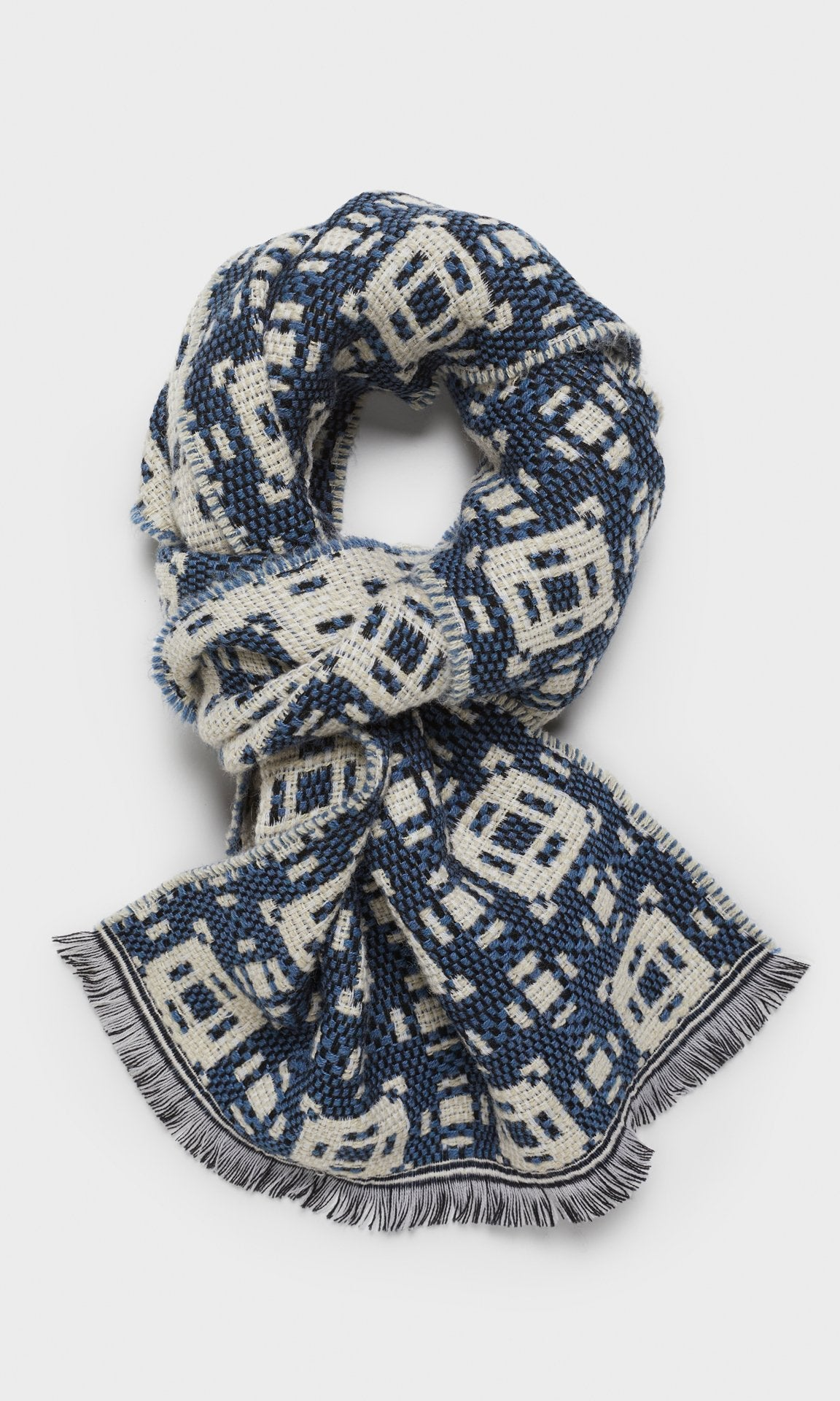 Benwick Scarf Denim