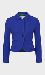 Bishop Jacket Cobalt