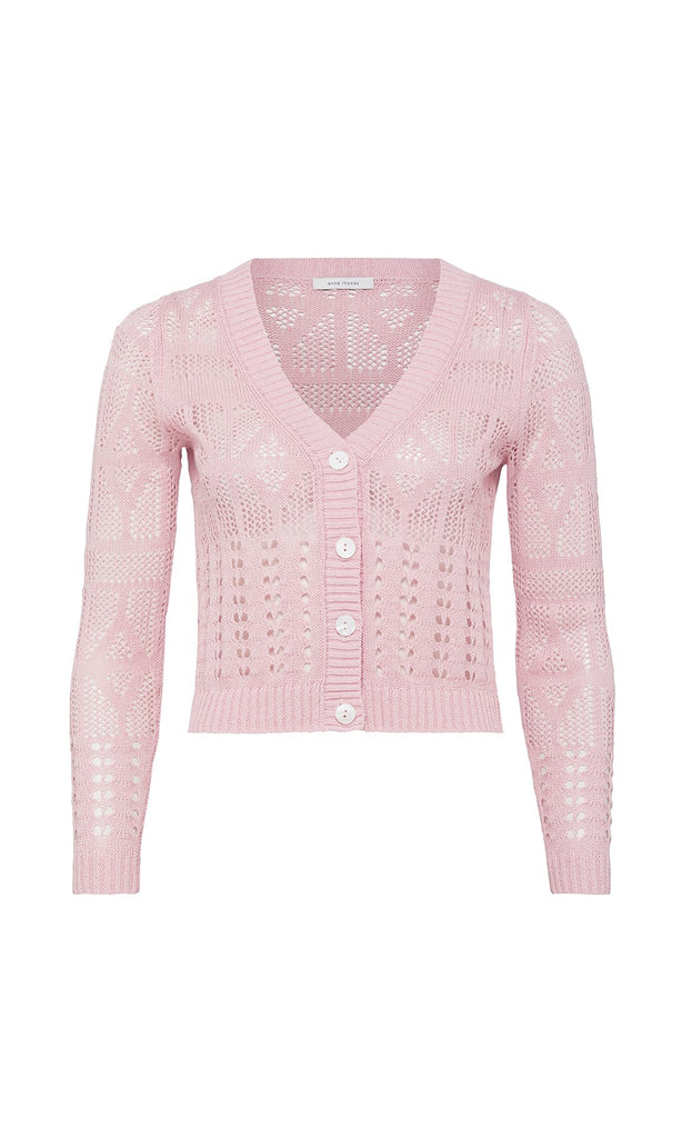 Butterfly Cardigan  - Pink