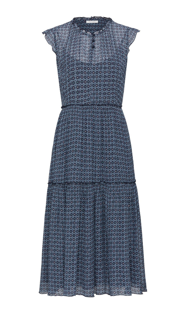 Cerboli Dress - Blue