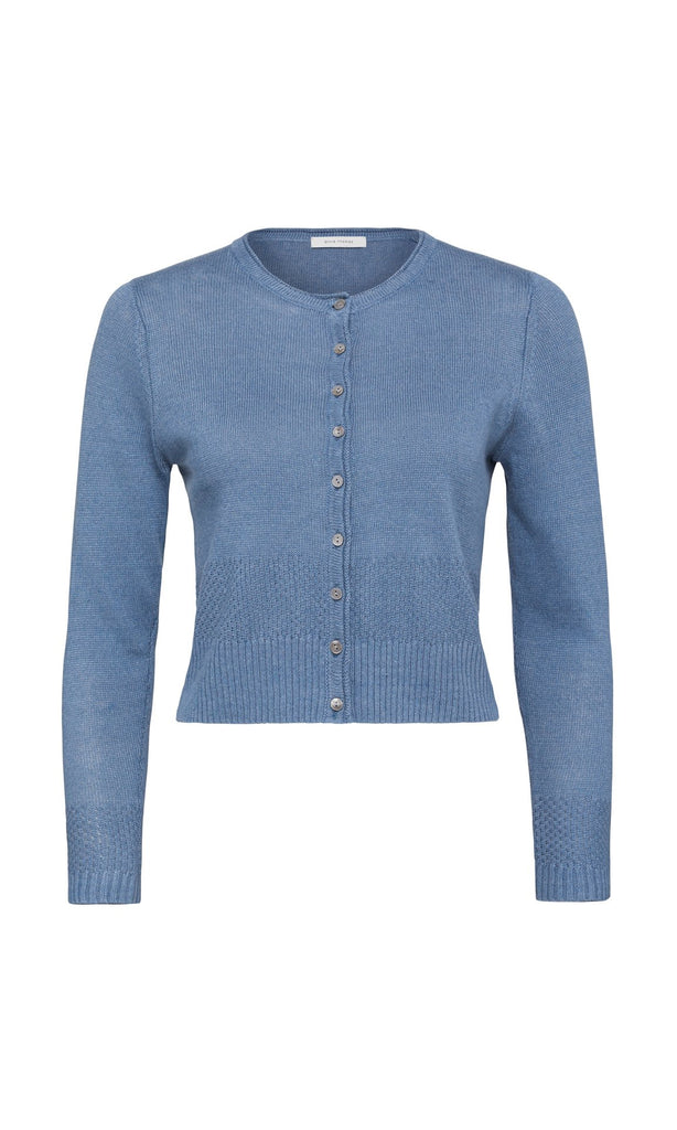 Corniglia Cardigan - Chambray Blue