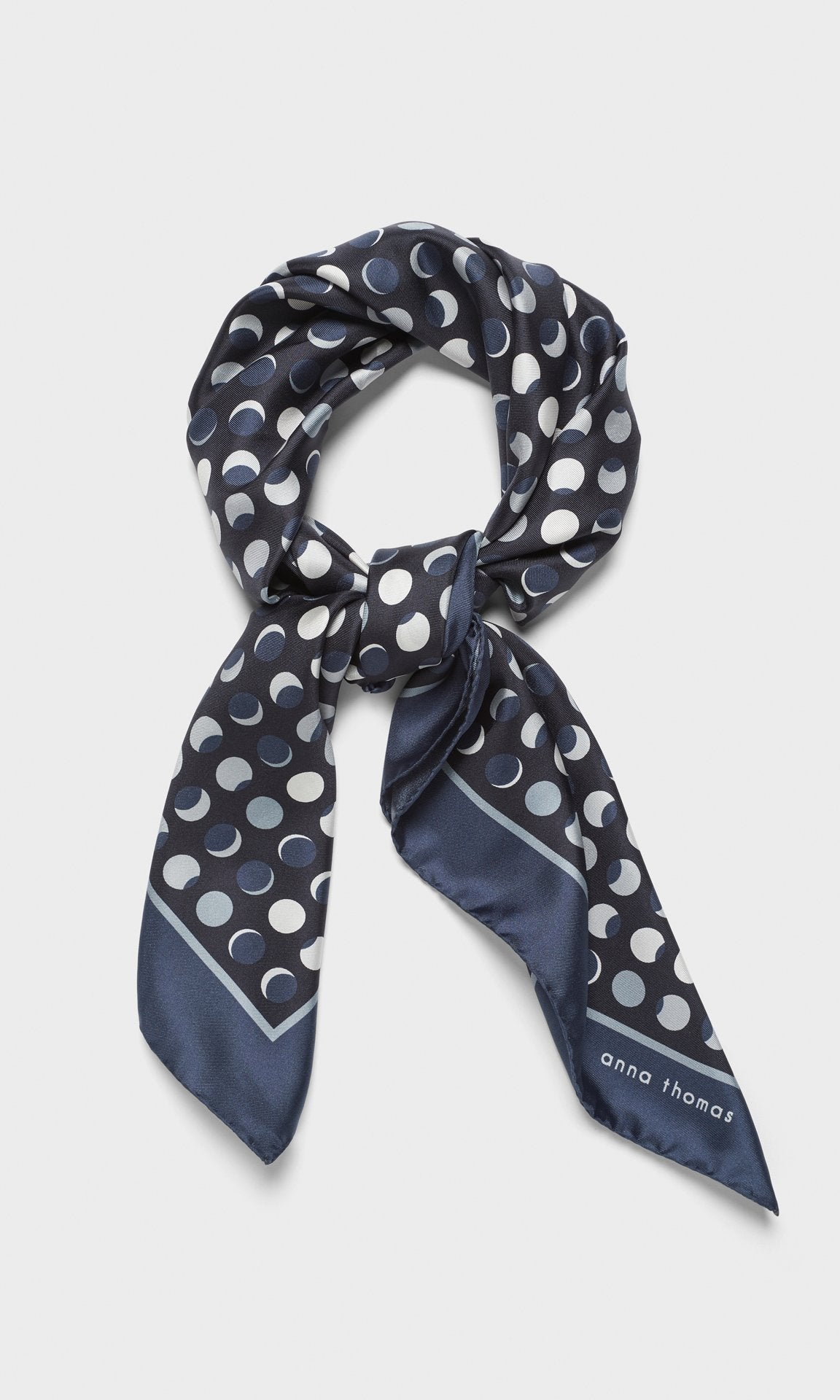 Eclipse Scarf Navy