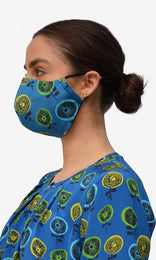 Stella Face Mask - Soffi Blue