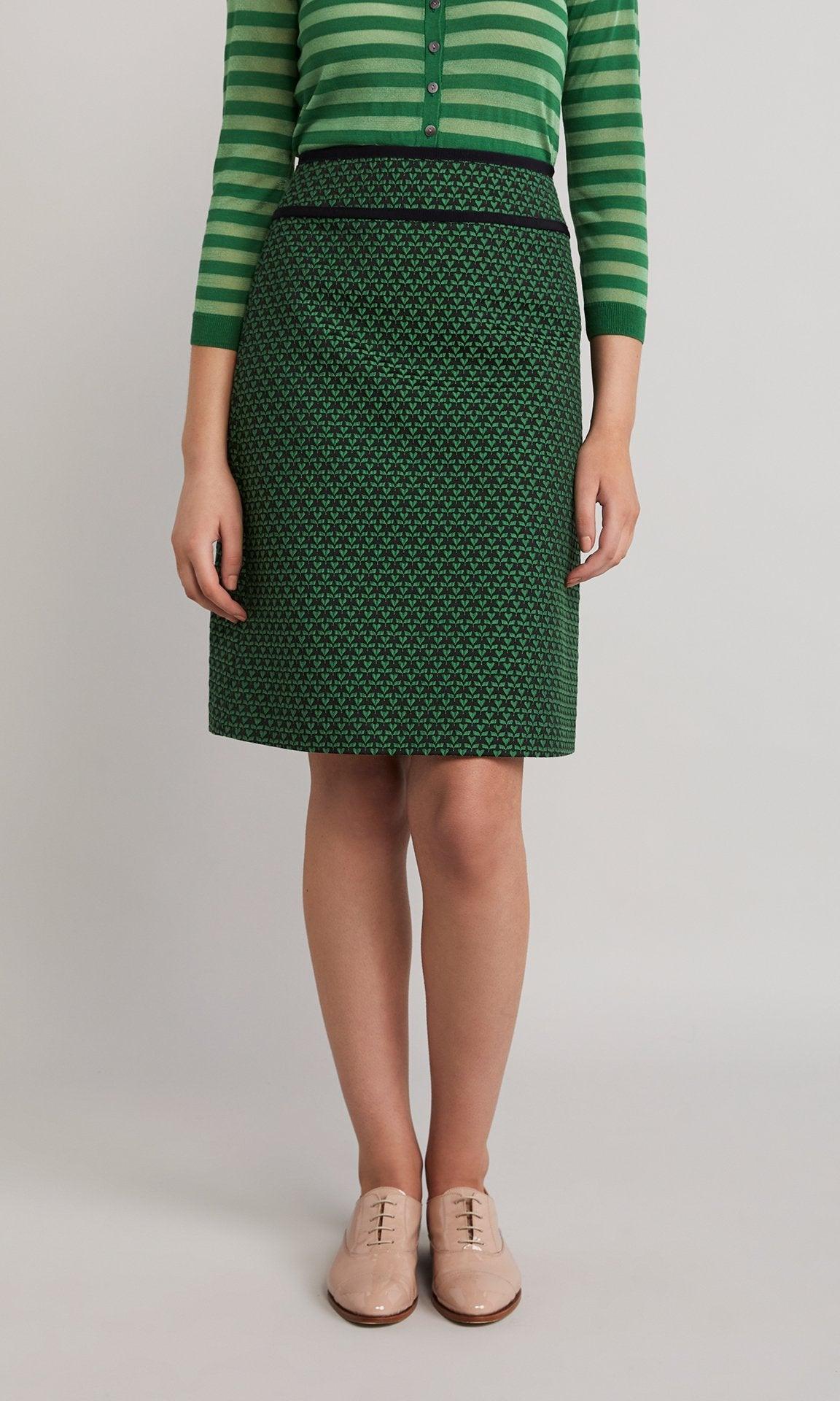 Delaney Skirt  - Emerald