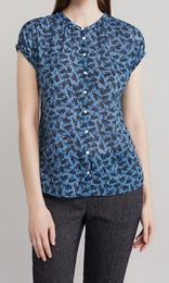Faith Blouse  - Blue