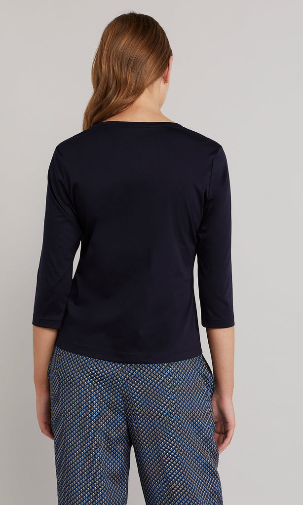 Hana Top - Navy