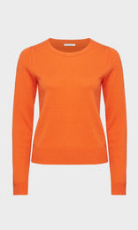 Henrietta Crewneck Orange